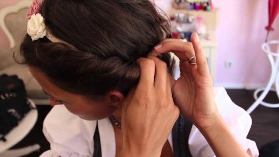 Trachten Frisuren Selber Machen Kurze Haare