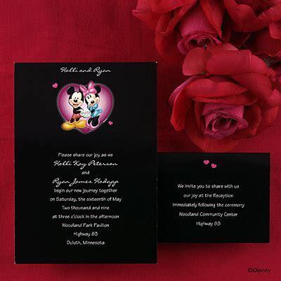 Disney® Wedding Invitations, Cinderella Wedding