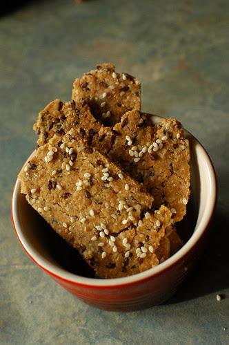 quinoa crackers II