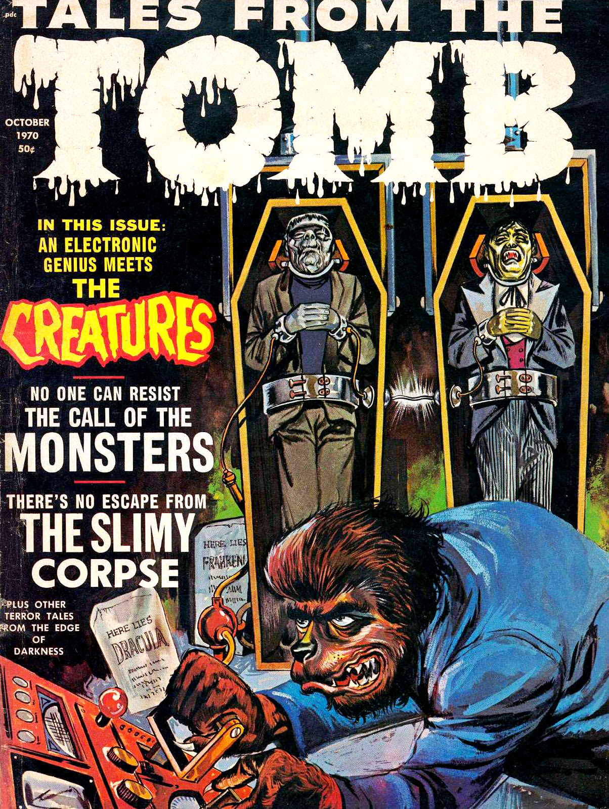 Tales from the Tomb - Vol. 2 #5 (Eerie Publications, 1970)