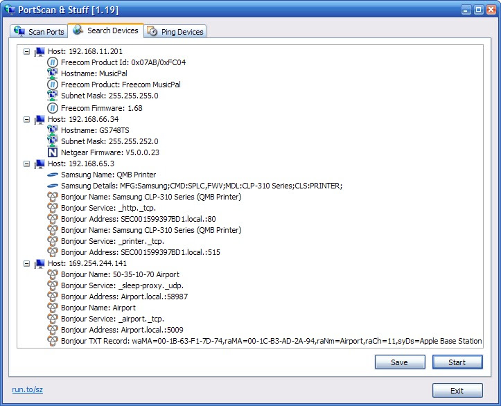 PortScan 1.32