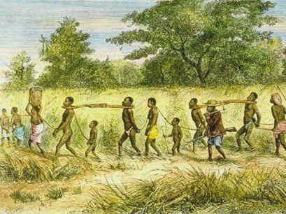 Slave Trade starting in Africa