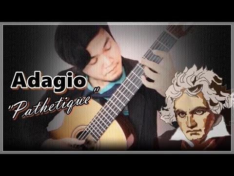 """Beethoven - Adagio - 2nd Mov. Sonata Op.13 """"Pathetique"""""""