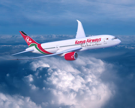 Kenya Airways 787 Dreamliner due in late 2013