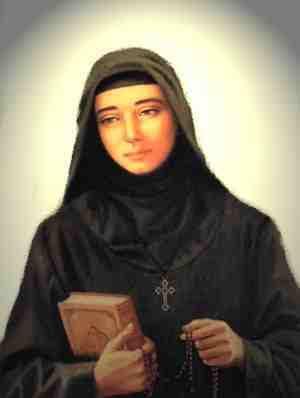 Sainte Rafqa Ar-Rayes, moniale de l'Ordre libanais maronite († 1914)