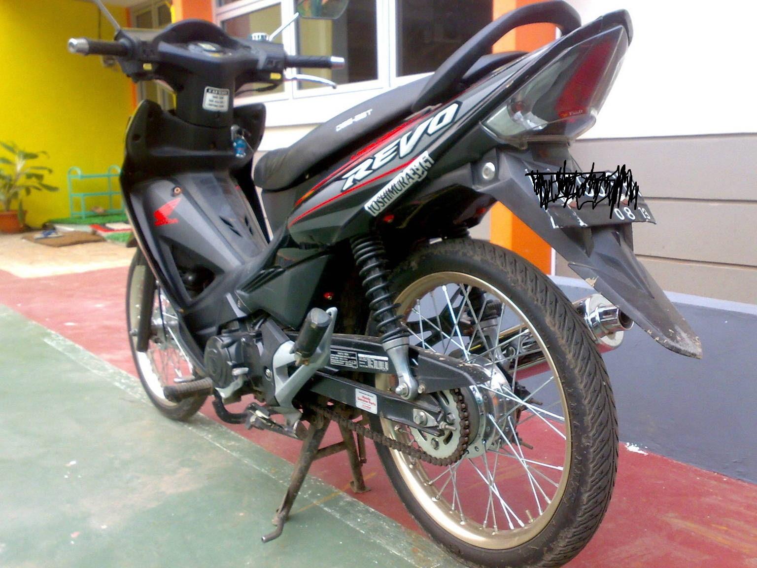 Koleksi Ide 60 Gambar Modifikasi Motor Honda Revo 2007 Terlengkap