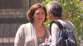 Ada Colau a la reunió de la coordinadora del nou partit