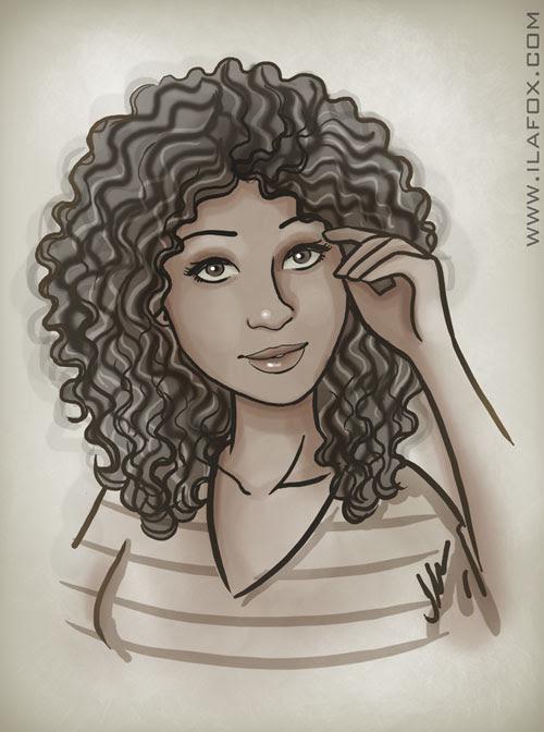 retrato, moça negra, cabelo afro, moça bonita, by ila fox