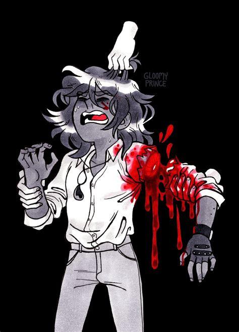 dark bloody anime boy guro art   gore aesthetic bizarre