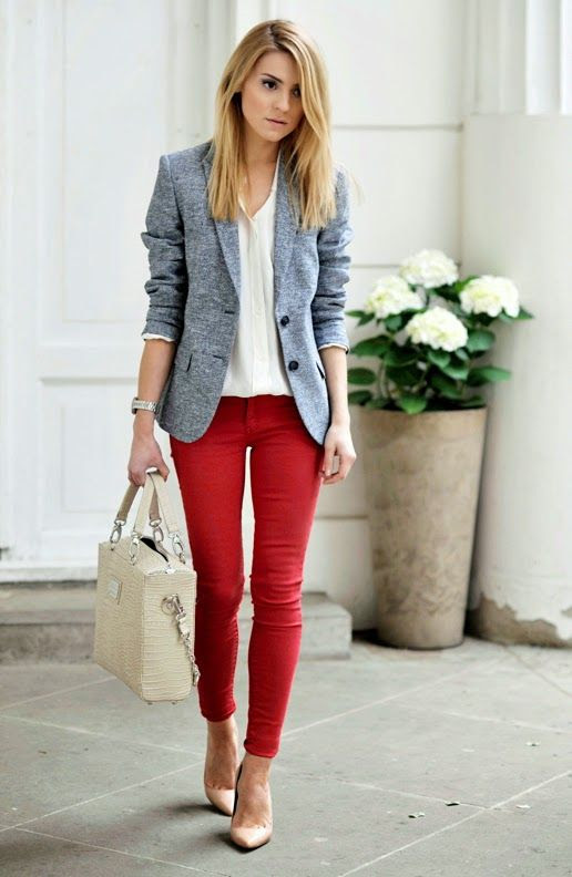21 eyecatchy girl work outfits for spring and summer