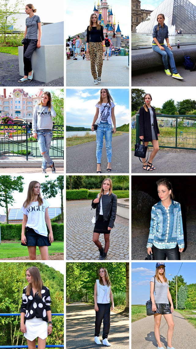 outfit outfits compilation recap august inspiration fashion blogger turn it inside out belgium outfit of today ootd