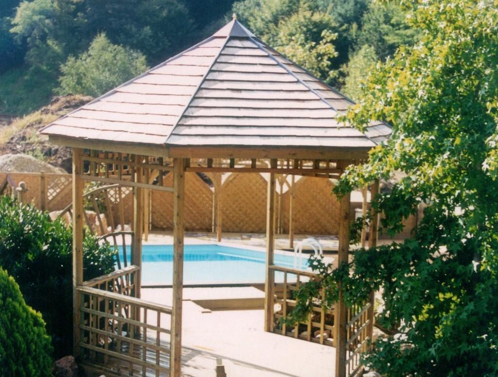 amenagement jardin avec pergola. Black Bedroom Furniture Sets. Home Design Ideas