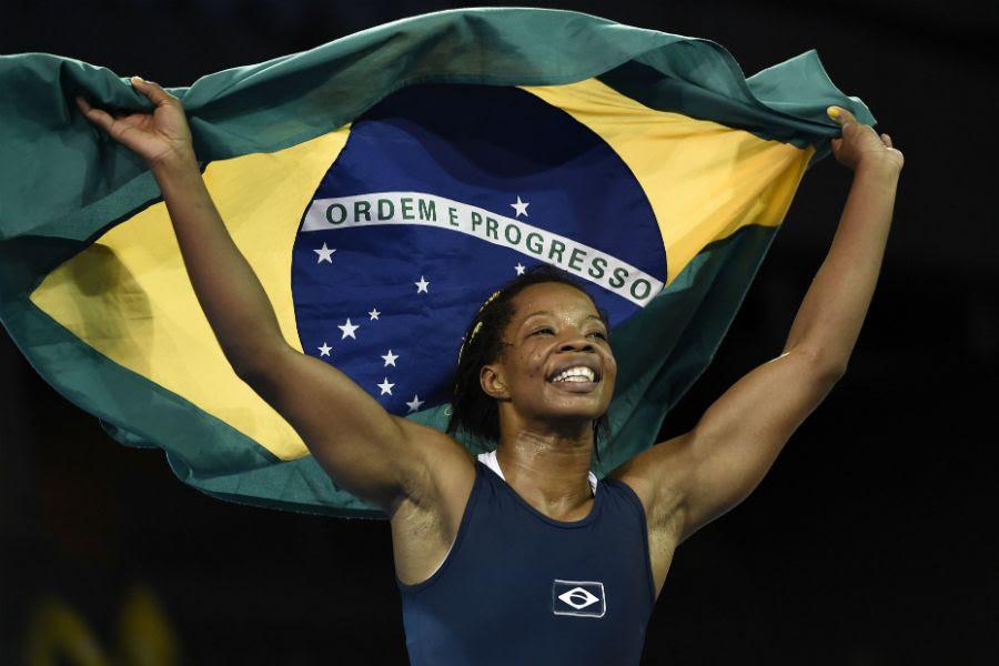 Joice Souza venceu por 6 a 5, de virada - Eric Bolte/USA Today Sports
