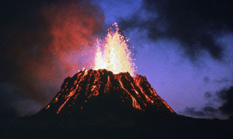As the Earth's crust buckles, volcanic activity will increase.