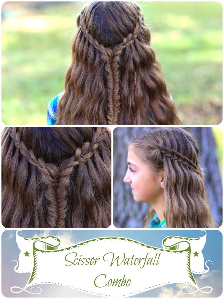Scissor Waterfall Combo Latest Hairstyles Cute Girls Hairstyles