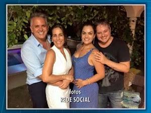 Glória Pires passa mal e é internada em hospital de Salvador (Foto: Imagens/ Tv Bahia)