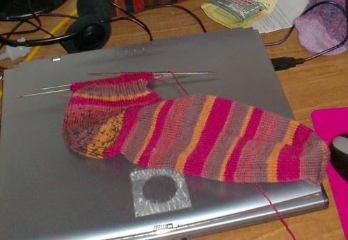 Knit Picks Felici sock yarn sock