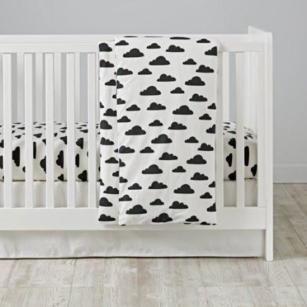 With A Chance of Crib Bedding - With a Chance Toddler Duvet Cover