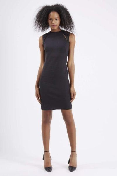 Topshop Shoulder Splice Bodycon Dress