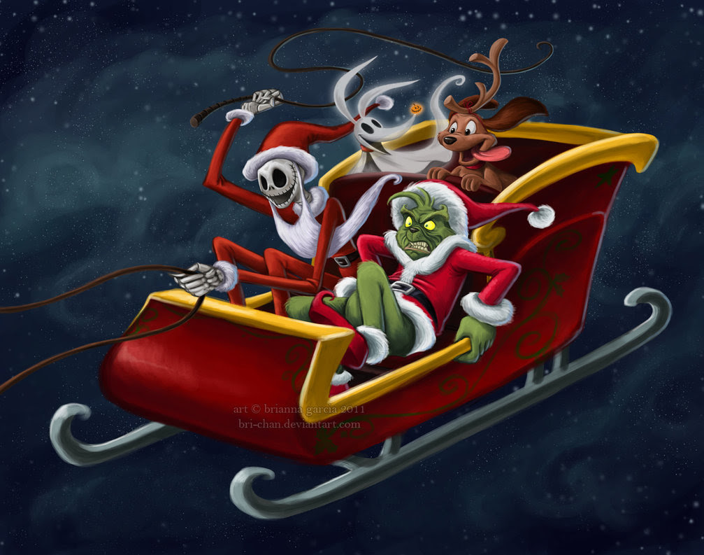 Jack Skellington And The Grinch Alternativeart