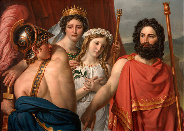 Jacques-Louis David -Ο θυμός του Αχιλλέα 1819