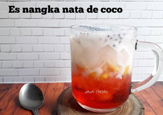 Resep Es nangka nata de coco Lezat