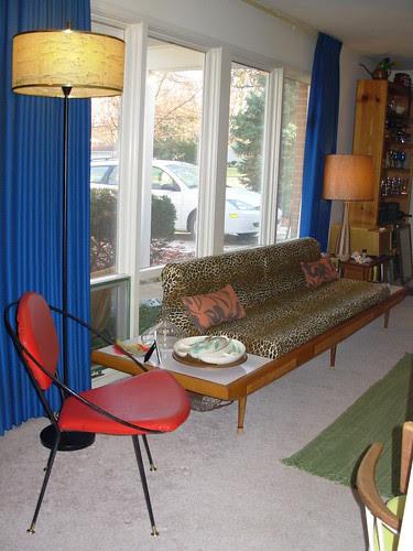Tony Paul Chair and Looooong Gondola Couch