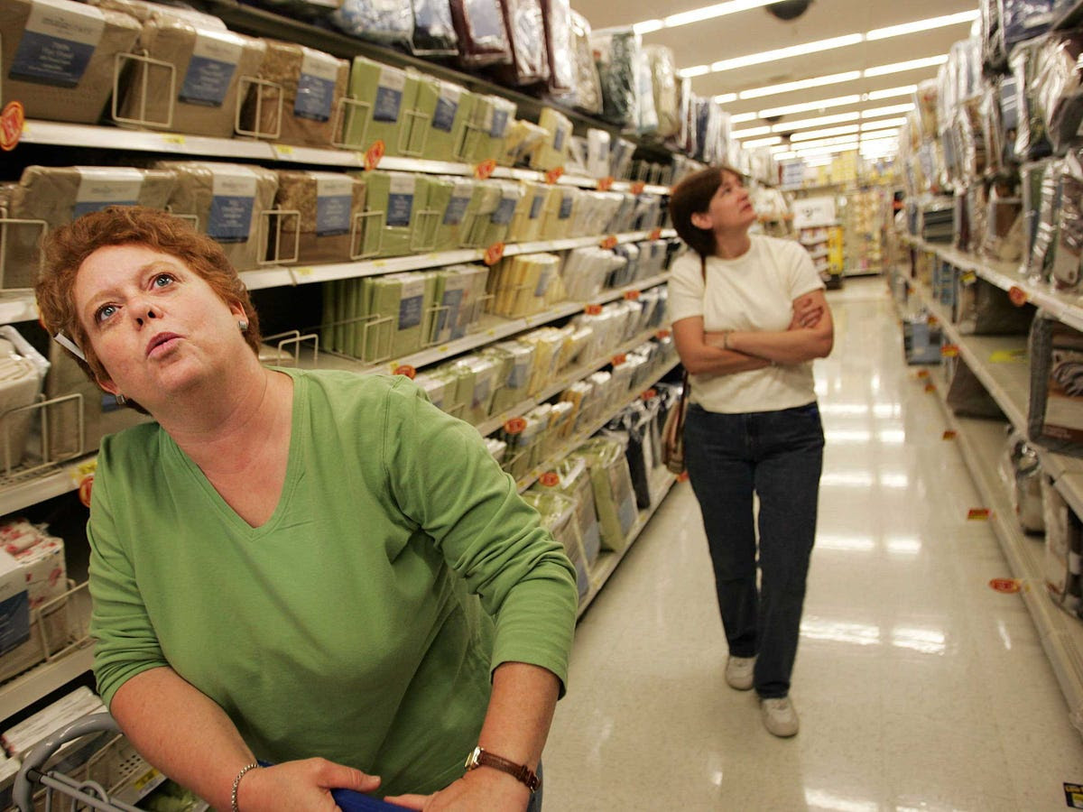Once customers start walking through a store's maze of aisles, they are conditioned to walk up and down each one without deviating.