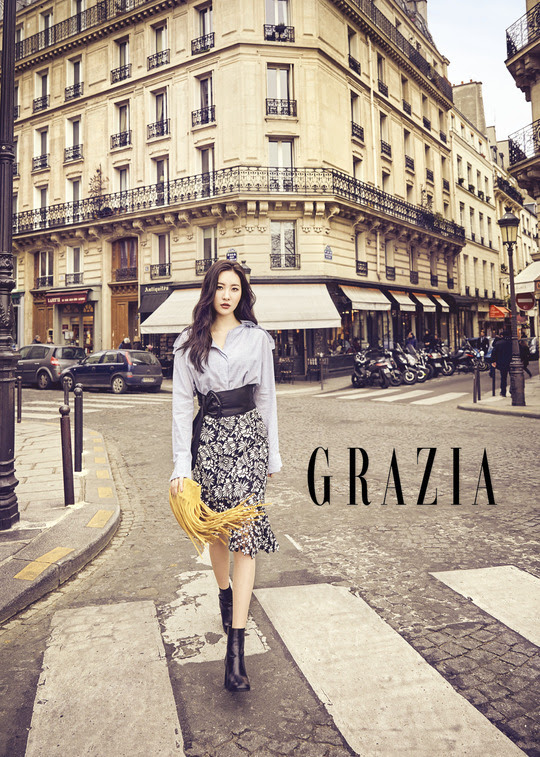 Sunmi - Grazia Magazine March Issue '17
