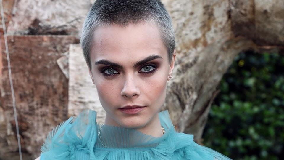 Cara Delevingne Is Letting Her Buzz Cut Grow In Naturally And We