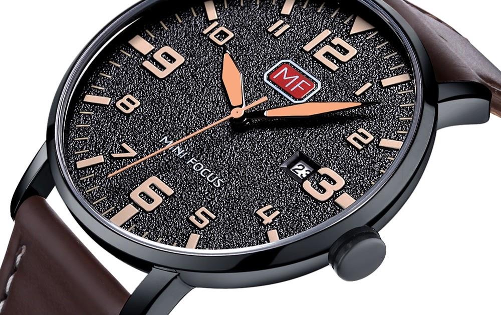 8aa24a748a3d terry-vqtzxe761  Comprar Reloj De Pulsera Para Hombre Marca Lujo MINIFOCUS  Cuarzo Resistente Al Agua Con Correa Cuero Marrón Relojes Moda Masculino  Online ...