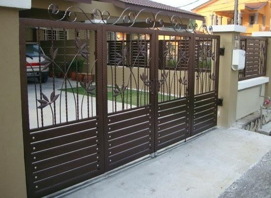 Harga Pintu Pagar Besi Dorong Terbaru 2020 Sukabumi