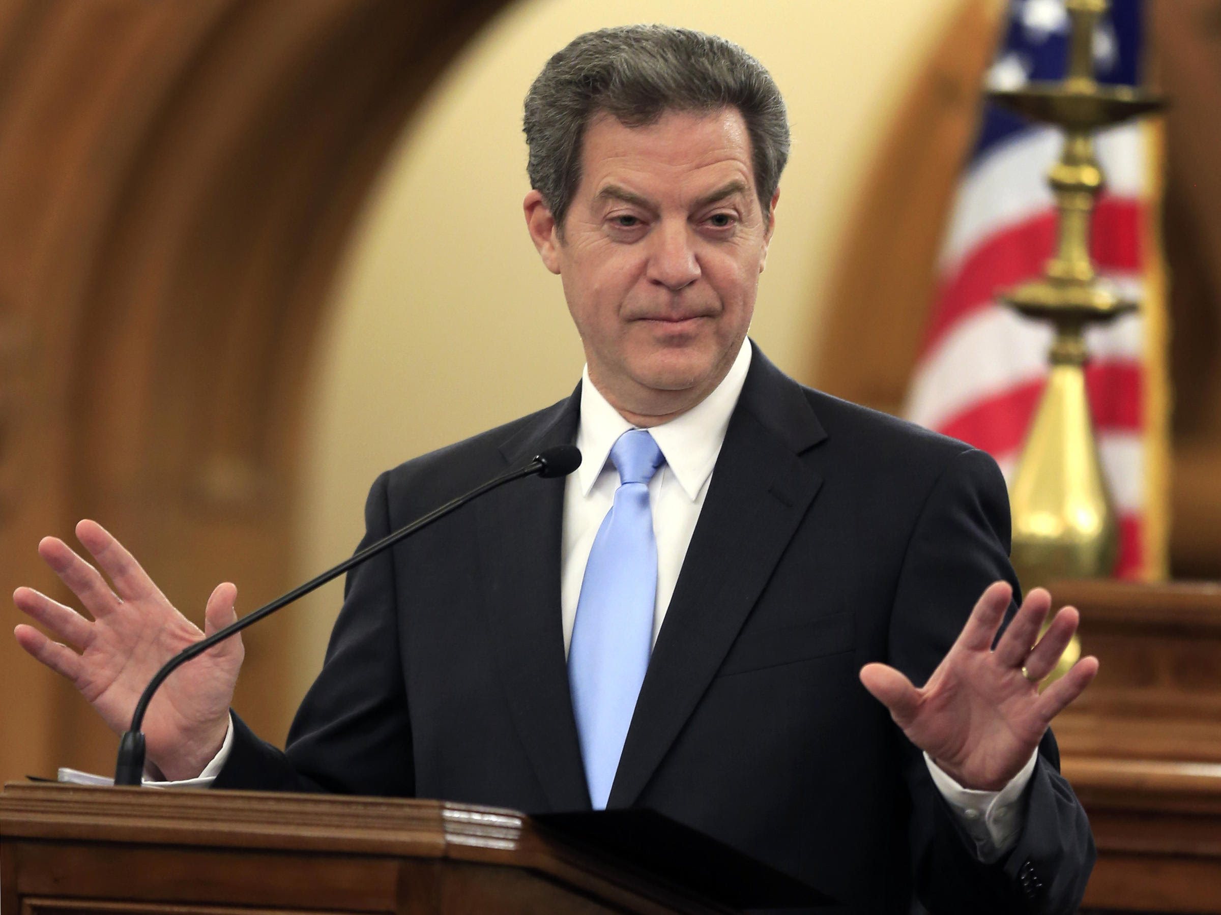 Image result for Sam Brownback