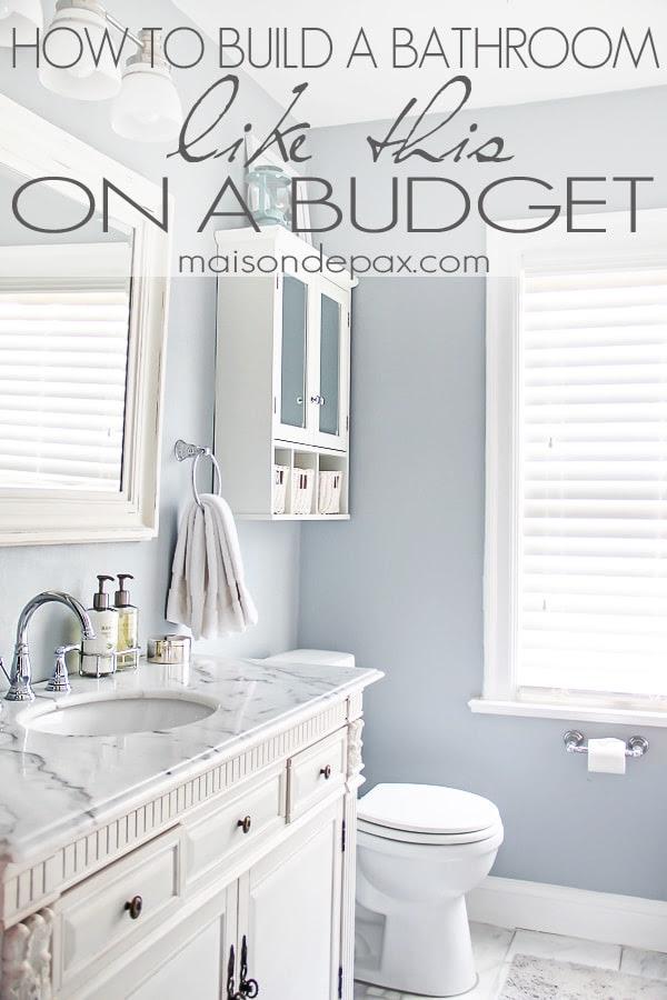 Bathroom Renovations Budget Tips