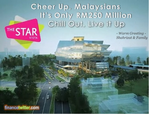 NFC Scandal The Star Vista Cheer Up Chill Out Shahrizat
