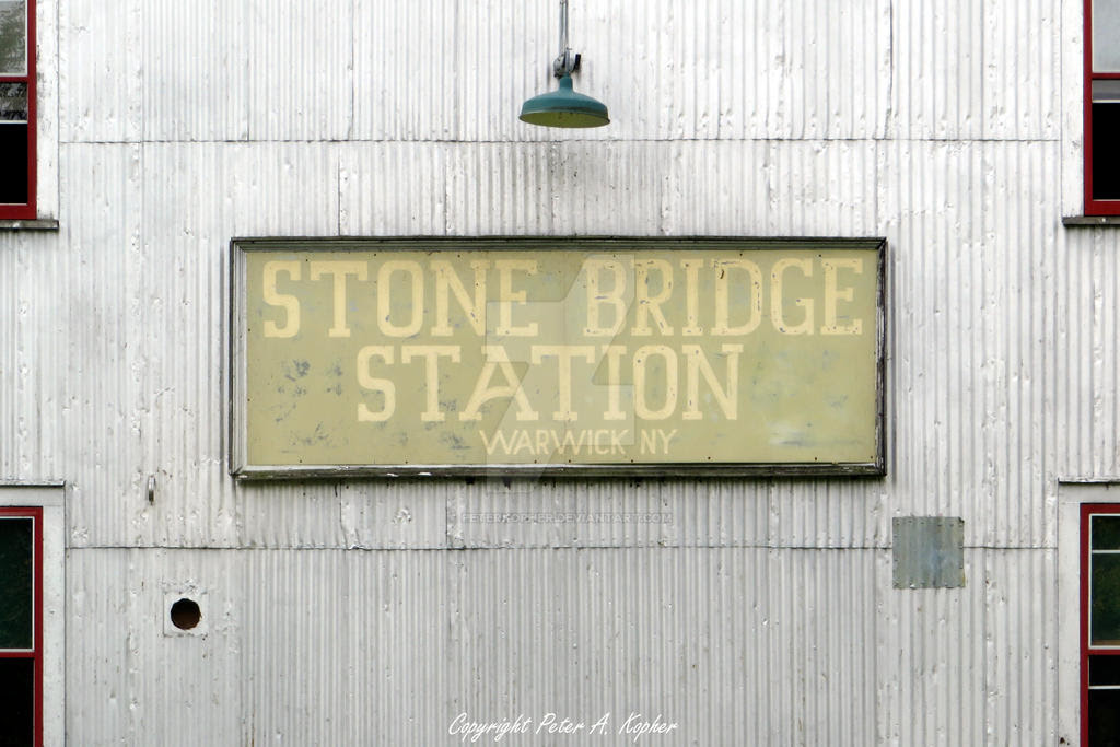 Stone Bridge Station - Warwick, NY by peterkopher