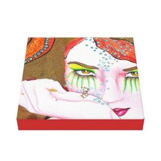 Golden Aroma Canvas Prints