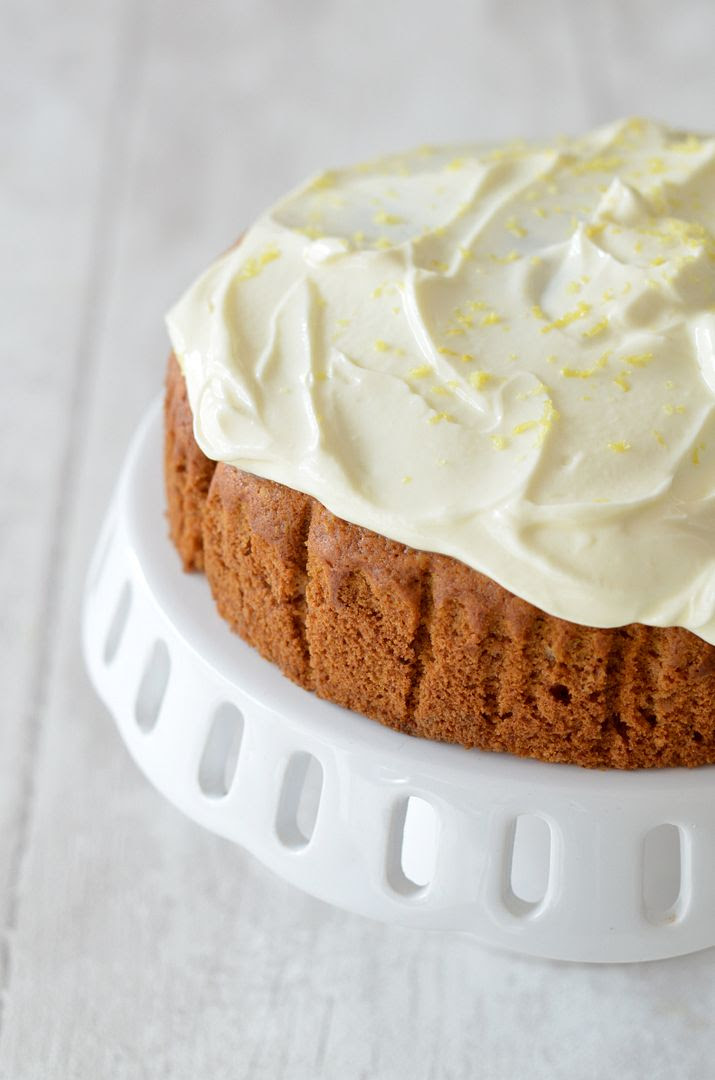 Eggless Honey, Lemon & Ginger Cake