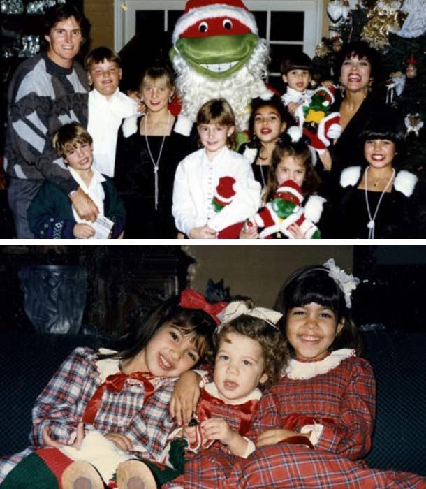 Kim Kardashian's Christmas family photo album - these pics are AMAZING - Mirror Online