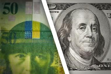 Dolar AS Melemah terhadap Yen Jepang dan Franc Swiss