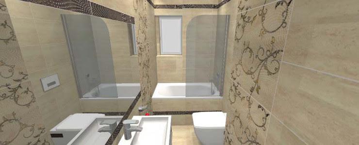 łazienka W Bloku Styl Ceramika