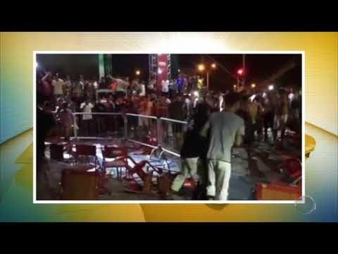 Em Teresina, festa da Copa do Mundo termina com tumulto e um preso