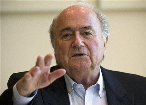 We agreed on Russia 2018 before vote - Blatter