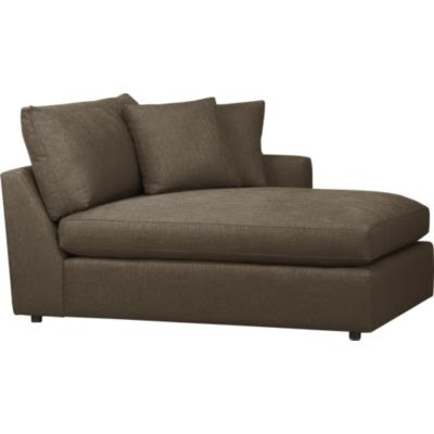 Lounge Sectional Chaise | Crate and Barrel
