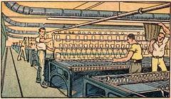 filature coton