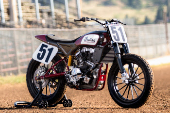 Indian Scout FTR750 flat track racer
