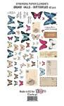 """Ephemera pack """"Grungy walls – butterflies"""""""