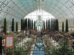 A greenhouse in Saint Paul, Minnesota.