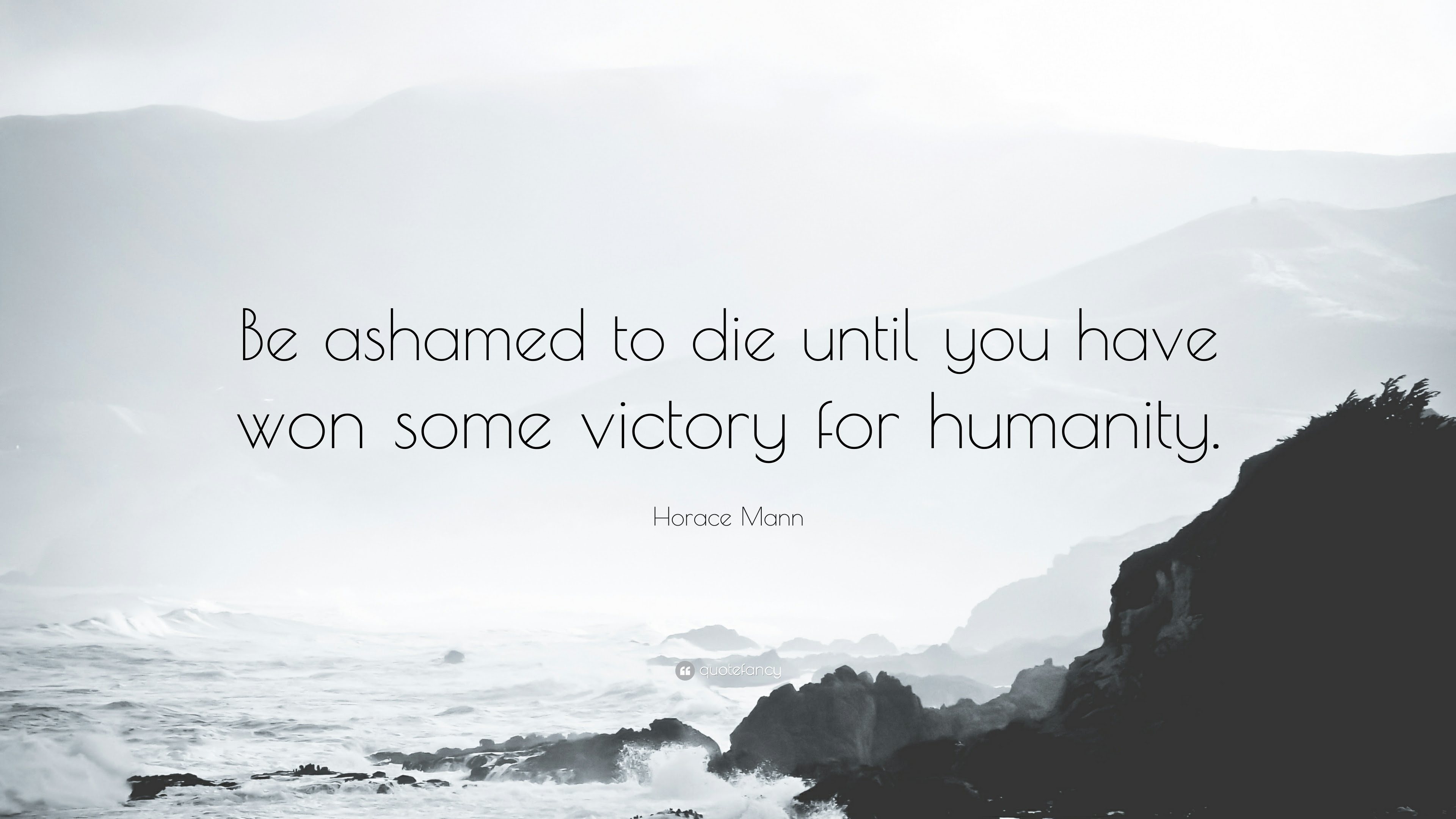 Be Ashamed To Die Horace Mann And Veganism In A Cruel World
