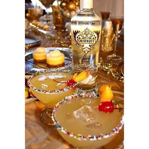 Tipsy Bartender - Pineapple Upside Down Cake Cocktail